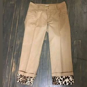 CACHE cropped pant YB30